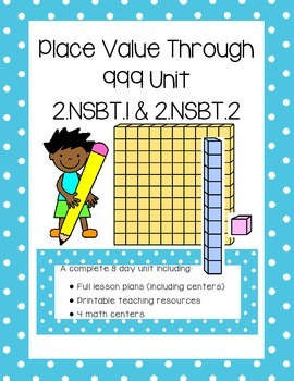Place Value through 999 (Math Lessons and Activities)