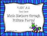 Place Value through Hundred Millions {Math Task Cards}