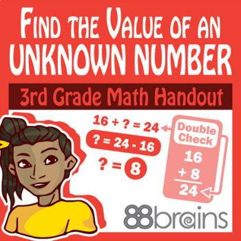 Place Value to Thousands: Find the Value of an Unknown Num