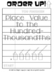 Place Value to the Hundred-Thousandths - Order Up! Set 1