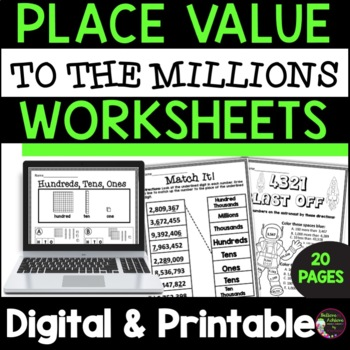Place Value to the Millions!