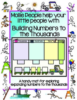 Place Value to the Thousands:  A Handy Mat for Building Numbers