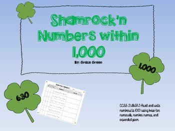 Place Value up to 1,000