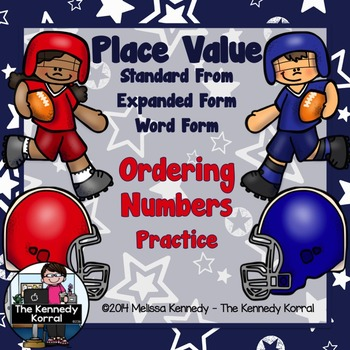 Place Value; Ordering Numbers Practice {Standard Form, Exp