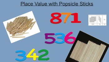 Place Value with Popsicle Sticks