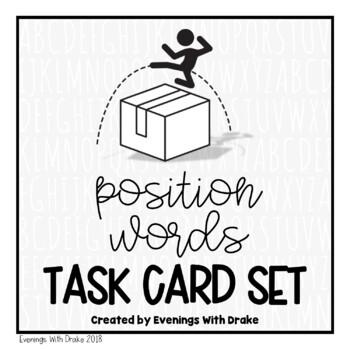 Positional Words Task Card Set