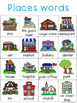 Places Writing Center Tools: Neighboorhood Words