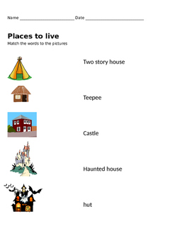 Places to LIve Match