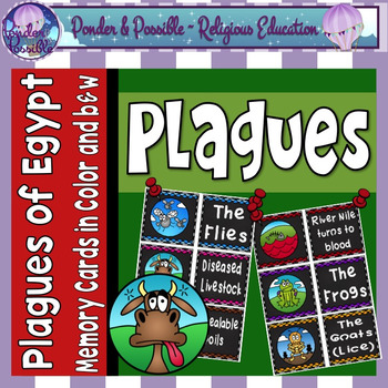 Plague Concentration Game ~ Moses and The Ten Plagues of E