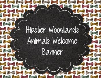 Plaid, Argyle, Eyeglasses, and Hipster Woodland Animals We