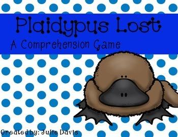 Plaidypus Lost Comprehension Game