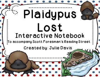 Plaidypus Lost Interactive Notebook Journal