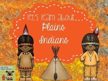 Plains Indians Teaching Resource