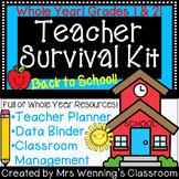 Teacher Survival ToolKit! An Editable Teacher Binder and s