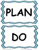Plan, Do, Study, Act Board Sports Labels