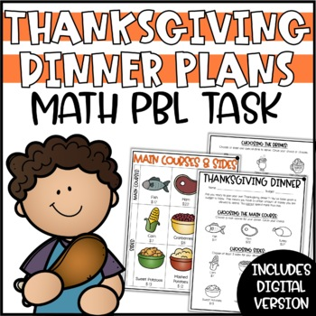 Plan Thanksgiving Dinner - A Differentiated Mini-Math Project