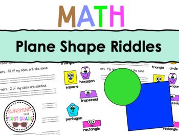 Plane Shape Riddles