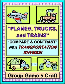 """""""Planes, Trucks, and Trains!"""" - Transportation Group Game"""
