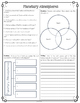 Planet Atmospheres Diagram and Comprehension Questions