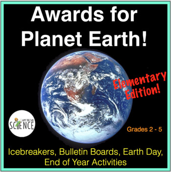 Science ~ Awards for Amazing Plants and Animals Plus Activ