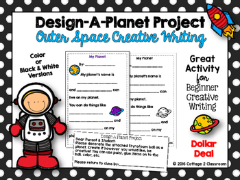 Planet Project: An Outer-Space Creative Writing Activity