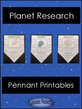 Planet Research Pennant Printables