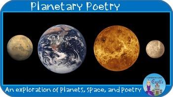 Planetary Poetry - Write haikus, limericks, & figurative l