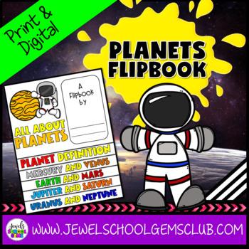 Planets Activities Flipbook
