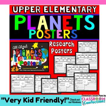Solar System: Planets Research Posters