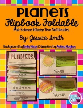 Planets Interactive Notebook Activity