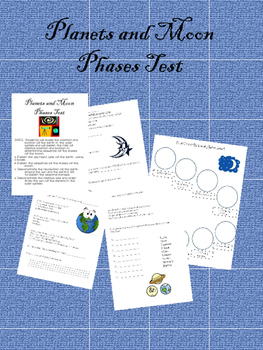 Planets and Moon Phases Test