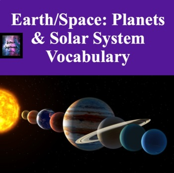 Planets and Solar System Vocabulary