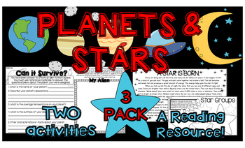 Planets and Stars 3 Pack