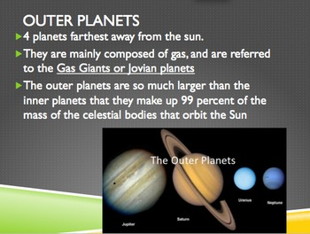 Planets in our Solar System/Universe PPT