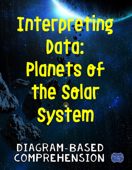 Planets of the Solar System Interpreting Data and Comprehe
