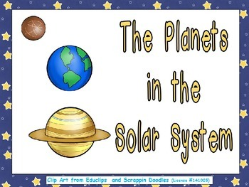 Planets of the Solar System- Nonfiction Shared Reading- Ki