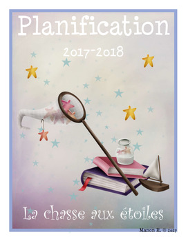 Planificateur 2017-2018 (Teacher Planner) 4 AM-2 PM