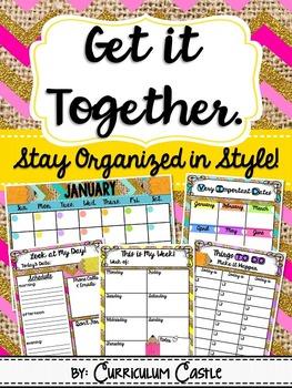 Planner {Get It Together}