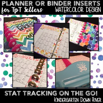 Planner or Binder Inserts for TpT Sellers