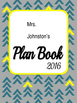 SAMPLE Planning Binder Cover Design *Editable*