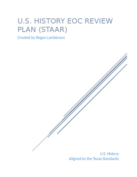Planning EOC Review for U.S. History (STAAR) in Texas