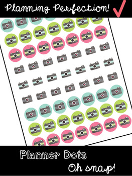 Planning Stickers: Oh Snap!