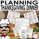Thanksgiving - Planning Thanksgiving Dinner