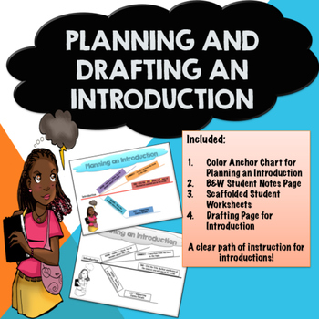 Planning, Drafting, and Writing an Introduction