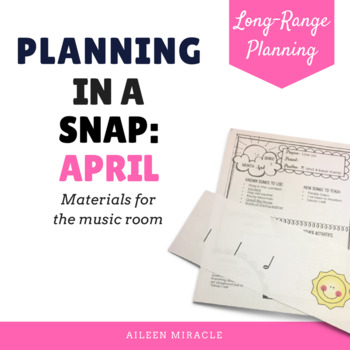 Planning in a Snap {April}
