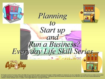 Planning to Start-up and Run a Business: Everyday Life Ski