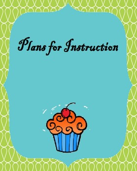 Plans for Instruction