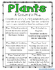 Fourth Grade NGSS - Plant Activities