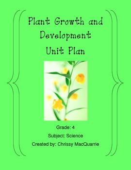 Plant Growth and Development Webquest (Includes website access)