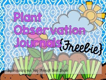 Plant Journal {Freebie!}